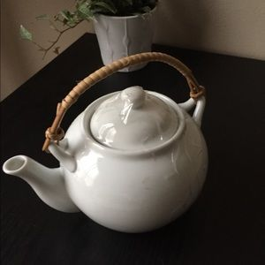 Teapot & Lid. New Essentials coupe by Pier 1
